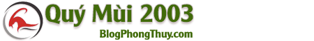 Quý Mùi – Quý Mùi 2003 – Tử Vi Quý Mùi – Tuổi Mùi 2003